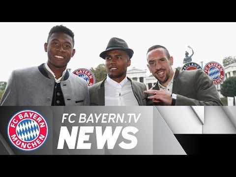 Bayern in Good Spirits at the Oktoberfest
