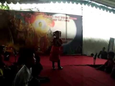 Audy ~ Siau Yen Cia (Vesak Celebration at Vihara Eka Dharma Loka Surabaya)