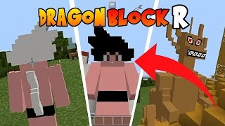 Minecraft PE : MOD DRAGON BLOCK R SUPER SAYAJIN 3 ! (Minecraft Pocket Edition)