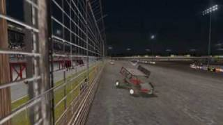 World of outlaw sprint car 2002 pc-line-racing