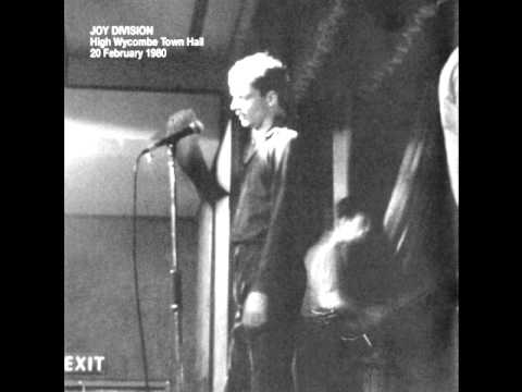 joy division- love will tear us apart live at high wycombe town hall