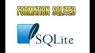 Création et manipulation des tables SQLite3 :  commandes  Insert ,  Select