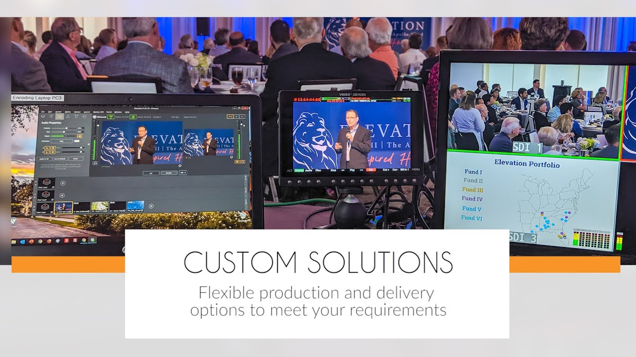 Webcasts, Webinars and Virtual Event Services