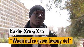 Karim Xrum Xax: de retour à la place de l'indépendance, fait des révélations.