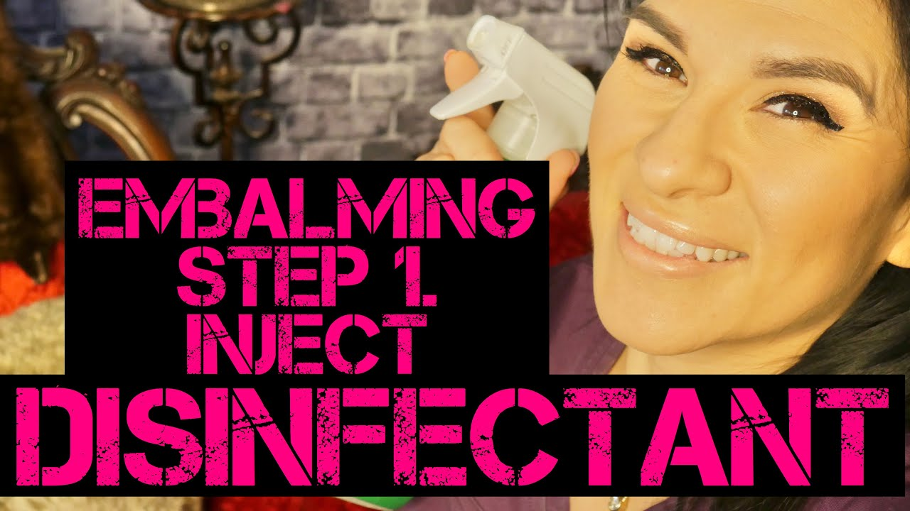 Embalming: Step 1 Inject Disinfectant
