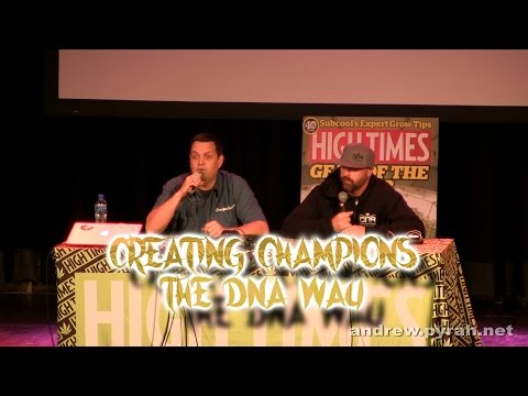 Creating Champions the DNA Way with Don & Aaron PART ONE Amsterdam Cannabis Cup Seminar 2014