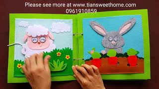 ANIMALS QUIETBOOK for kids 1-6 year olds