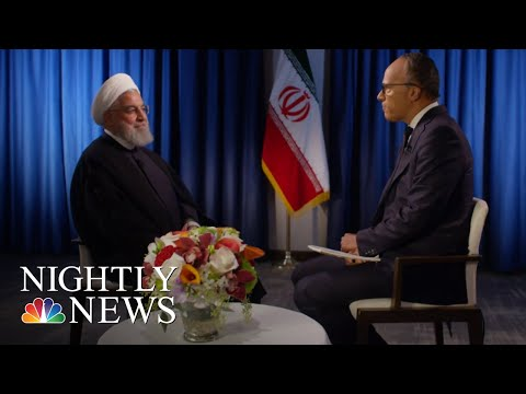 Extended Interview: Iranian President Hassan Rouhani   NBC Nightly News