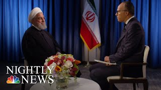 Extended Interview: Iranian President Hassan Rouhani | NBC Nightly News