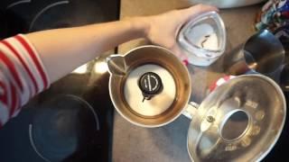 ванильный капучино (раф) в кофеварке Mukka Express