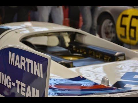 Porsche 917K Martini Le Mans 1971 racing