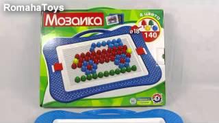 Обзор детской Мозаики Технок 3381 производство Украина