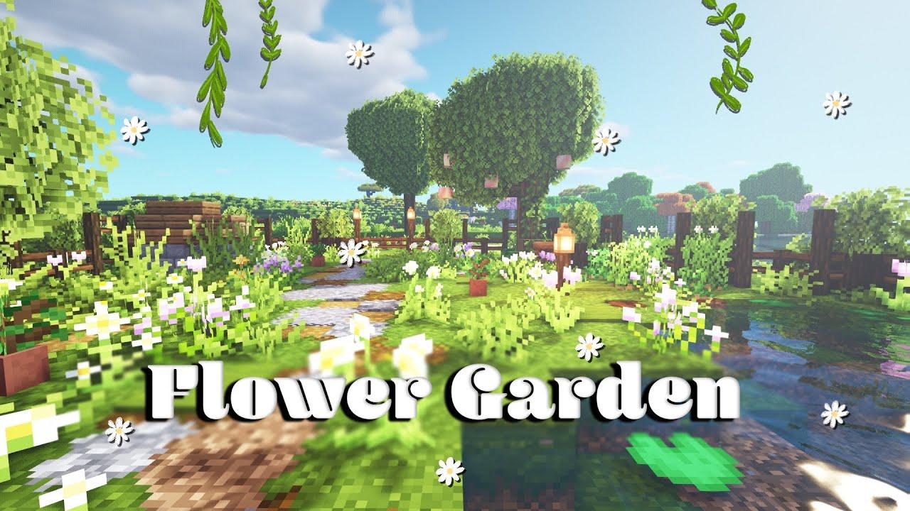 Flower Garden Aesthetic Youtube