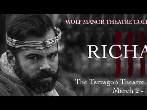 Wolf Manor's Richard III at Tarragon Workspace
