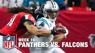Cam Newton Plows Through Multiple Falcons on this POWERFUL Run | Panthers vs. Falcons | NFL
