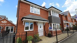 Bovis Homes The Canterbury Boorley Park Hampshire By Showhomesonline Youtube