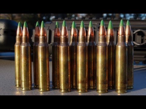 5.56mm NATO Green Tip:  200 Yd Accuracy And