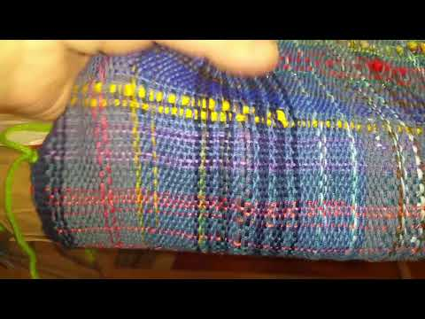Tips for Saori Weaving, Dyeing and Spinning Art Yarn, Rigid heddle loom 1/4/18 Eve Starr Fiber arts