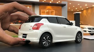 Unboxing of Maruti Suzuki Swift 1/18 Diecast Model Car   Indian Car   Suzuki Diecast Collection Video