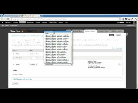 Drupal Gallery Formatter Module