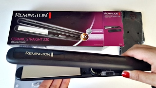 Hair Straightener- Better than GHD! Great Price- Remington Ceramic Straight 230