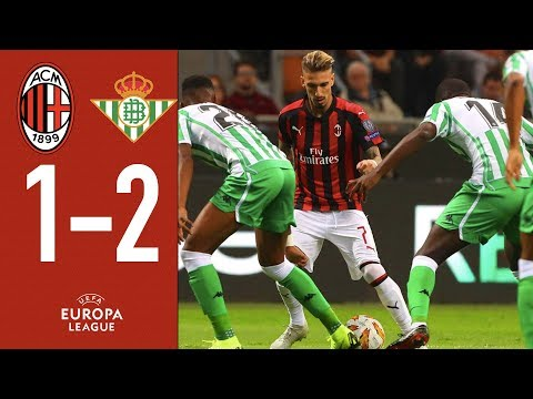 AC Milan 1-2 Real Betis - Highlights - Europa League Group F
