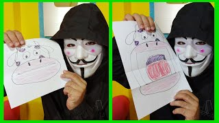 THE HACKER TAKES THE CHANNEL AND MAKES A TUTORIAL ABRE MOUTH   MY MOON