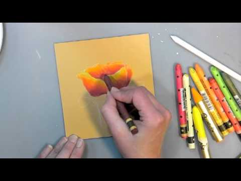 Water Soluble Oil Painting Tutorial