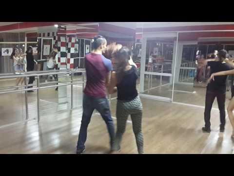 Antalya dans akademi salsa yeni kombinasyonlar derya kalayci volkan akkaya