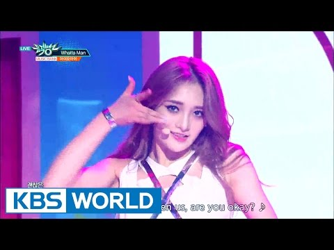 I.O.I (아이오아이) - Whatta Man [Music Bank COMEBACK / 2016.08.12]