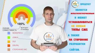 Статистика,аналитика и СЕО - презентация MyStat для wordpress.