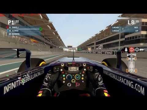 F1 2013, Career 100%, season 1, part 17, United Arab Emirates, Red Bull