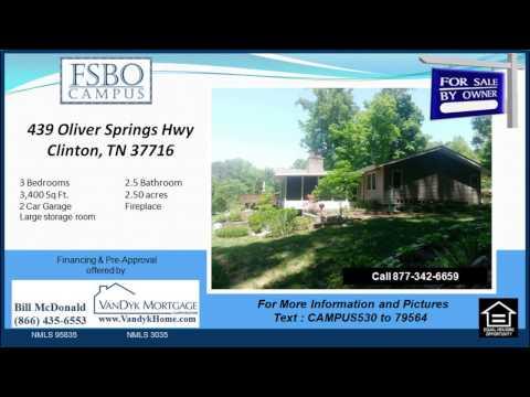 3 bedroom house for sale near Clinch River Community School in Clinton TN