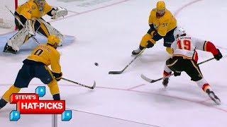 NHL Plays Of The Week: No Tkachuking Way!   Steve's Hat-Picks