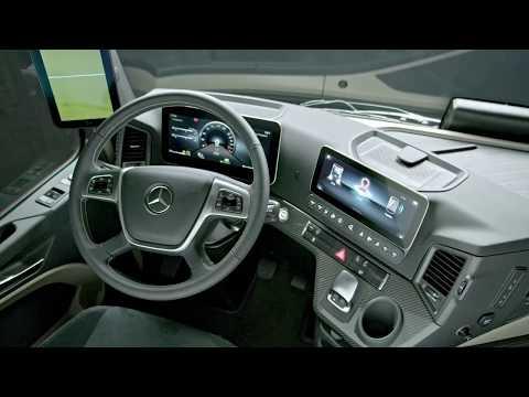 2019 Mercedes Benz Actros Exterior Interior