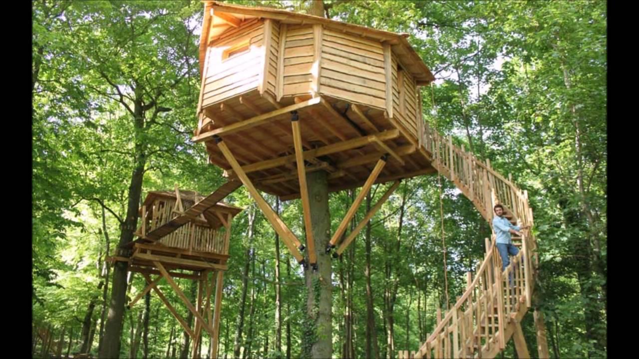 Bekend DOE HET ZELF! Hoe bouw ik een boomhut / speelhuisje? + uitleg #AQ15