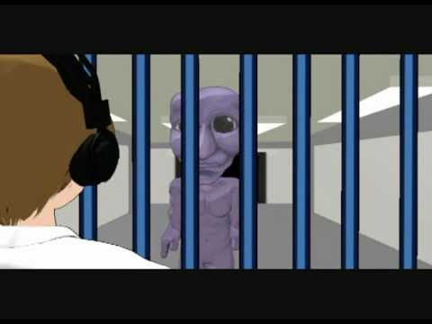PewDiePie's Ao Oni funny in MikuMikuDance which is the program