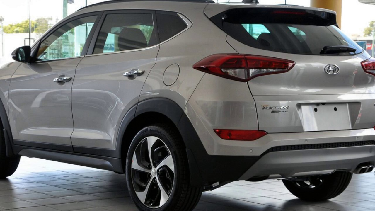 2017 Hyundai Tucson Tle2 My18 Highlander Awd White Sand 6 Sd Sports Automatic Wagon