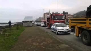 Vakfıkebir'de Meydana Gelen Trafik kazası Görüntü videosu.