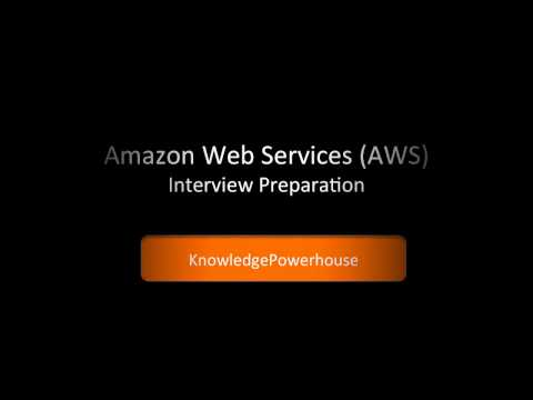 Amazon Web Services AWS Interview Preparation Course Basics Part 1