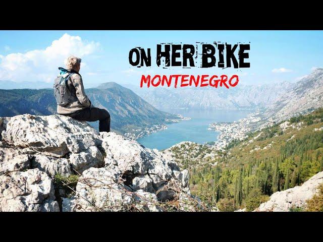 Montenegro. On Her Bike Around the World. Episode 31