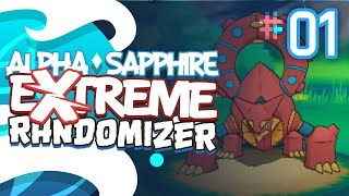 EXTREME ALREADY?!?! - Pokémon Alpha Sapphire Extreme Randomizer (Episode 1)
