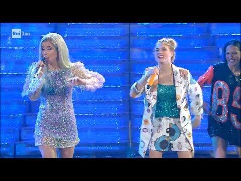 SanremoYoung - Il duetto di Luna Farina e Baby K - Roma Bangkok