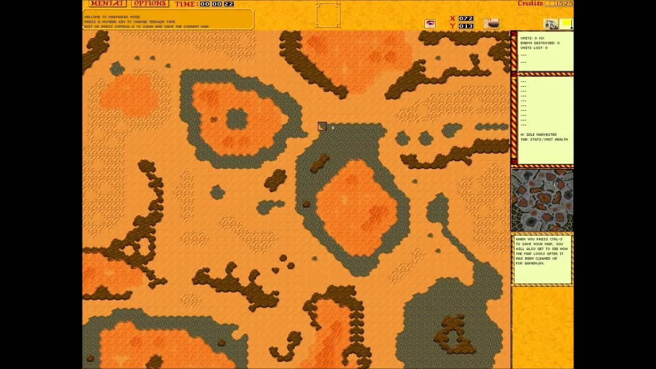 dune 2 the golden path map editing demo - YouTube Dune Map on