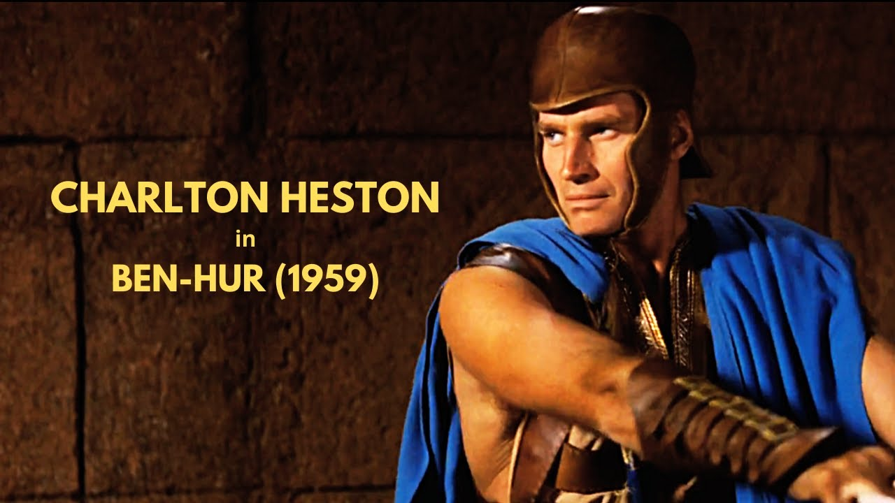Download Charlton Heston in Ben-Hur (1959): A 1:35-Minute Mash-Up