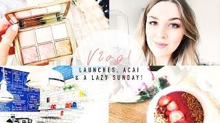 VLOG! Beauty Launches, Acai Bowl Recipe & A Lazy Sunday | I COVET THEE