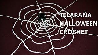 Crochet tela de ara a viyoutube - Como hacer tela de arana ...