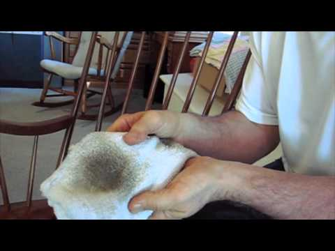 How to Remove Sticky Hand Oil Build up from the Finish on Wood : Hand Oils