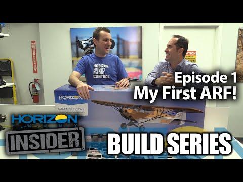 Horizon Insider Build Series - Episode 1 - My First ARF!