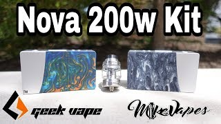Geek Vape Nova 200w Kit With Cerberus Mesh Tank - Mike Vapes